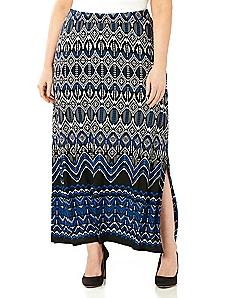 Boho Border Skirt