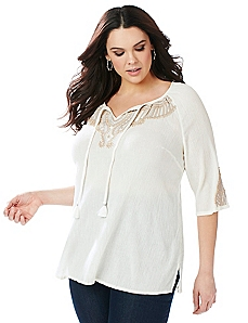 Graceful Peasant Top