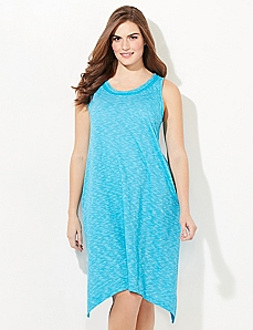 Spacedye Soft Knit Sleep Gown