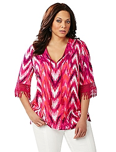 South Beach Chevron Top