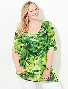 Jungle Leaves Blouse