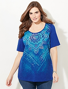 Mellow Medallion Top
