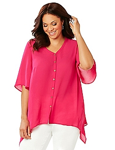 Tango Rose Blouse