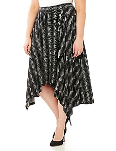 Diamond Midi Skirt