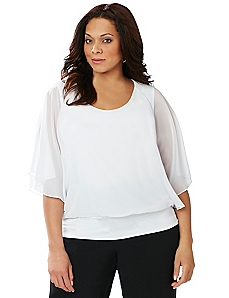 Whisper Dolman Top