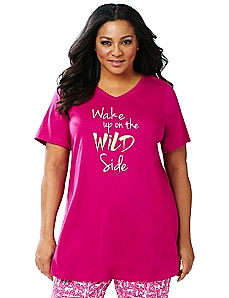 Wild Side Sleep Tunic