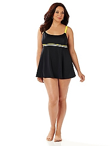 Double Trim Swimdress