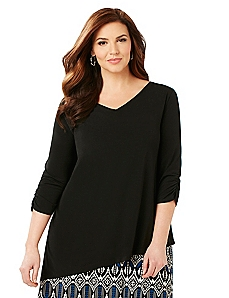 V-Neck Layering Top