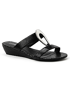 Oval Elegance Sandal