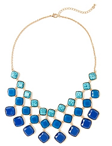Splashing Bib Necklace