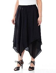 Black Label Soft Edges Skirt