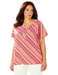 Sunset Stripe Tunic