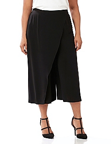 Black Label Wrap Gaucho Pant