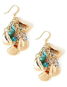 Shell Cluster Earrings