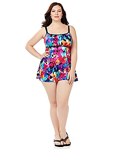 Island Garden Swimdress