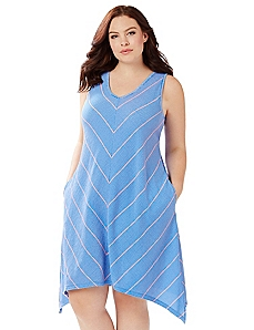 Chevron Sleep Gown