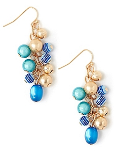 Waterside Cluster Earrings