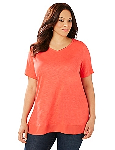 Double Hem Tee