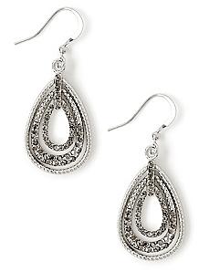 Almond Shine Earrings