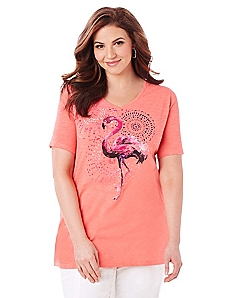 Flamingo Tee