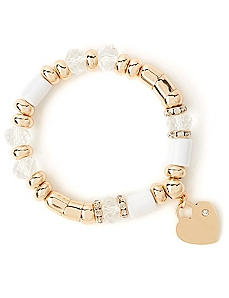 Twinkling Heart Charm Bracelet