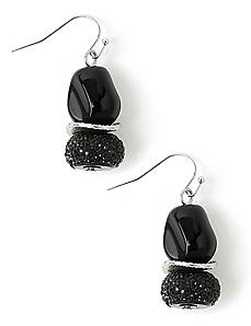 Bold Beaded Earrings