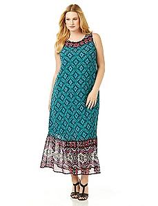 Boho Tapestry Dress