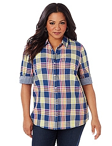 Fresh Plaid Shirt