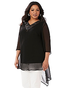 Black Label Night Sparkle Tunic
