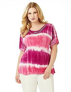 Tie-Dye Waves Top