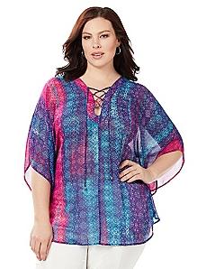 Batik Poncho