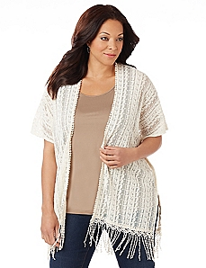 Pacific Coast Fringe Topper