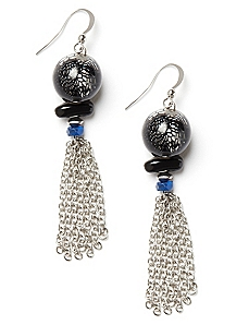 Lace Bead Earrings