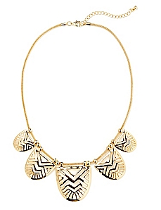Aztec Bib Necklace
