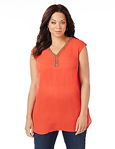 Cambria Sleeveless Blouse