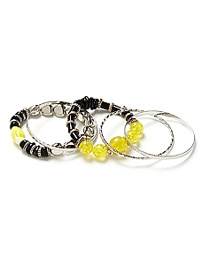 Beaded Contrast Bracelets