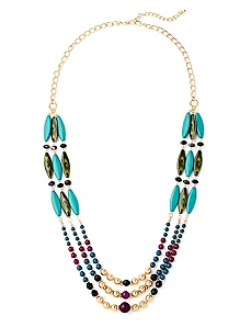 Peacock Plume Necklace