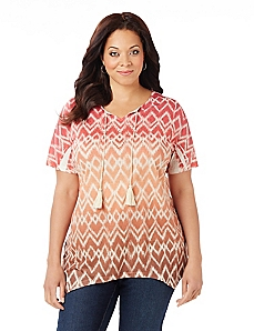 Aztec Sunset Top