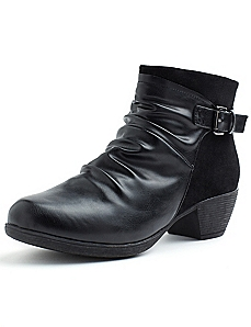 Ruched Ankle Boot