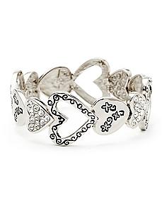 Inspirational Hearts Bracelet
