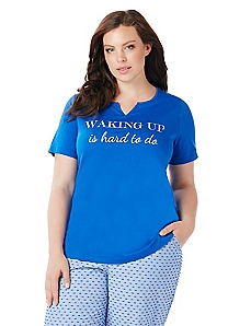 Wake Up Sleep Tee