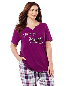 Let's Do Brunch Sleep Tee