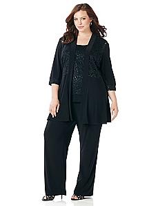 Sparkling Lace Pantsuit