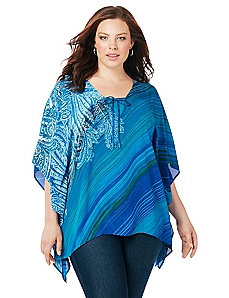 Oceanside Poncho