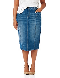 Chatham Square Denim Skirt