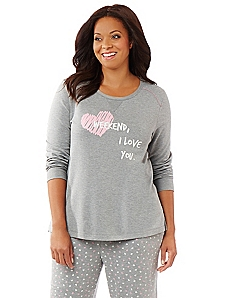 Weekend, I Love You Sleep Pullover