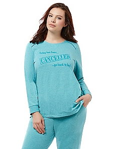 Back To Bed Sleep Pullover