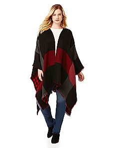 Buffalo Check Reversible Wrap