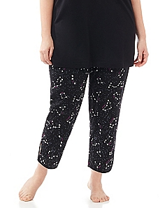 Zodiac Signs Slim Ankle Capri