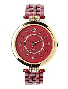 Red Brooklyn Watch